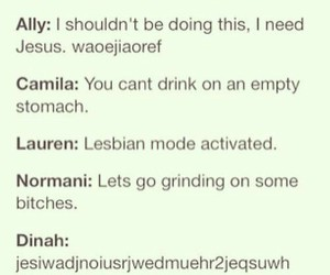 drunk, 5h, and ally brooke image