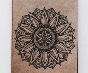 art, mandala, and doodling image