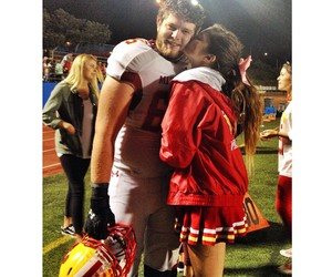 casal, couple, and football image