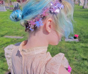 lace, pale, and pastel image