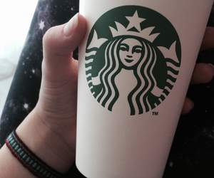 coffe, love, and starbucks image