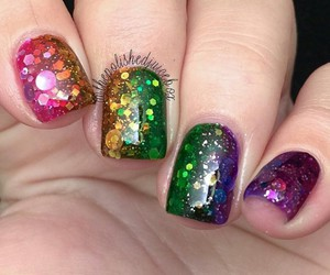 colorful, glitter, and gradient image