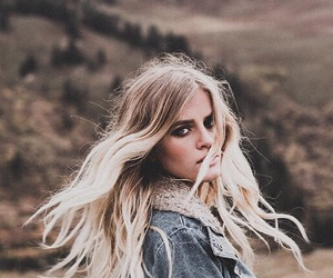 blonde, hair, and grunge image