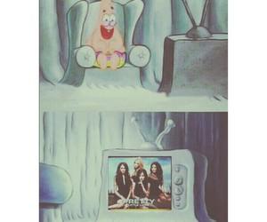 Liars, spongebob, and tv image