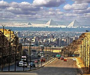 egypt, pyramid, and cairo image