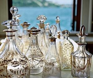 bottle, glass, and vintage image
