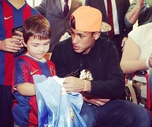 Barcelona, neymar jr, and football image