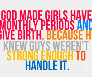 girl, period, and strong image