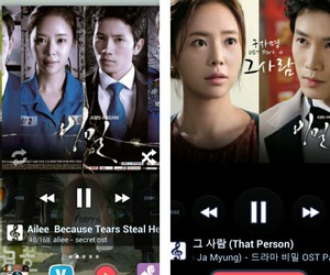 music, ost, and secret love image