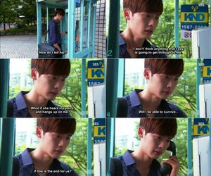 lee jong suk, phone, and quotes image
