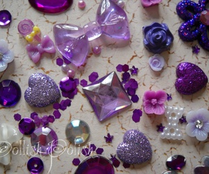 glitter, shiny, and lavender image