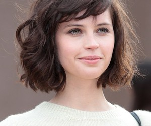 Felicity Jones and hair image