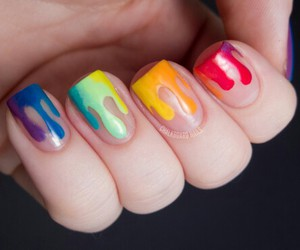 nail art, pretty, and style image