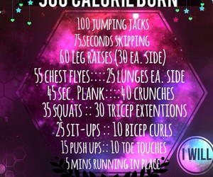 abs, calories, and galaxy image