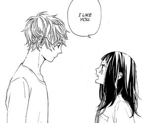 i like you, manga, and manga couple image