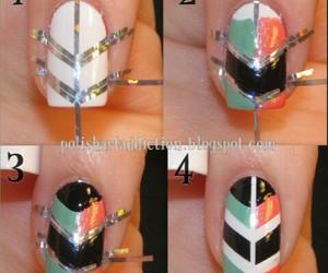 nails, diy, and nail art image
