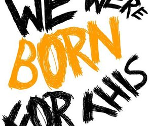justin bieber, we were born for this, and song image