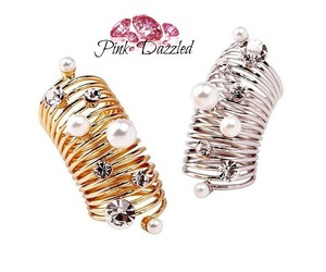 fashion jewelry, crystal ring, and rings image