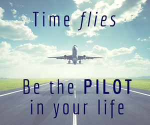 pilot, life, and time image