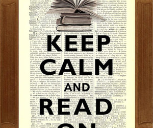 book, read, and calm image