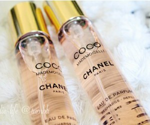coco chanel, luxury, and chanel perfume image