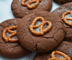chocolate, salted caramel, and Cookies image