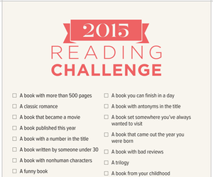 2015 and reading challenge image