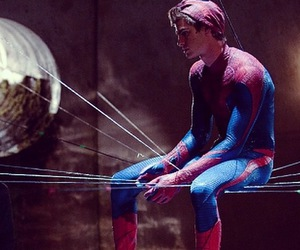 spider man, peter parker, and andrew garfield image