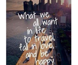 happy, travel, and life image
