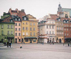 warsaw, vintage, and city image