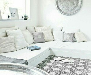 white, beautiful, and interior image