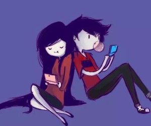 adventure time, marceline, and marshall lee image