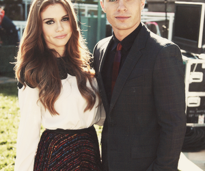 holland roden, colton haynes, and teen wolf image