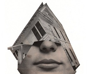 art, Collage, and crazy image