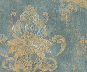blue, Paper, and fleur de lis image