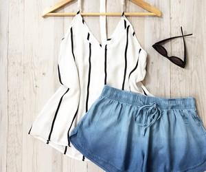 denim, fashion, and summer image