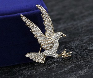 bird brooch, eagle jewelry, and eagle brooch image
