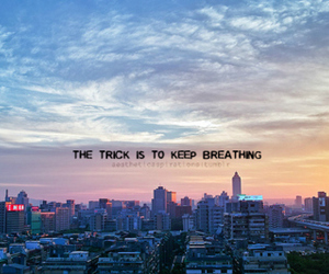 quote, breath, and photography image