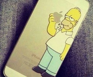 homer simpson, 5, and gold image