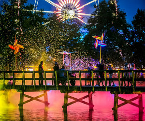 colors, music, and Tomorrowland image