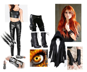 clary+fray, assasin, and clary image