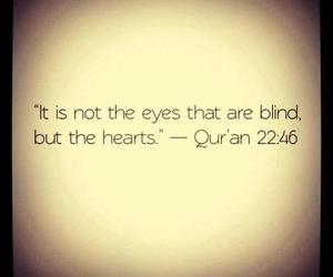 quran, blind, and islam image