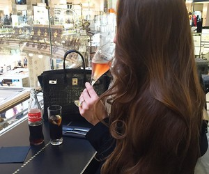 hair, girl, and luxury image