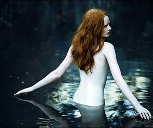 water, pale, and ginger image