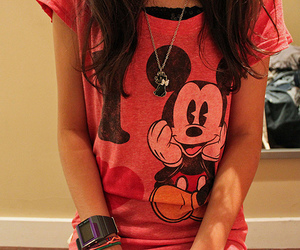 blouse, mickey, and clothes image