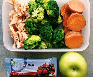 apple, food, and lunch image