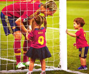 kids, fernando torres, and football image