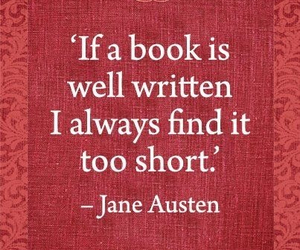 jane austen and book image