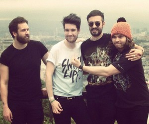 bastille, dan smith, and woody image