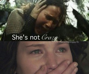broken, crazy, and the hunger games image
